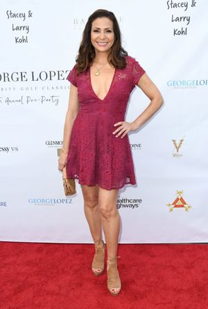 CONSTANCE MARIE at George Lopez Golf..